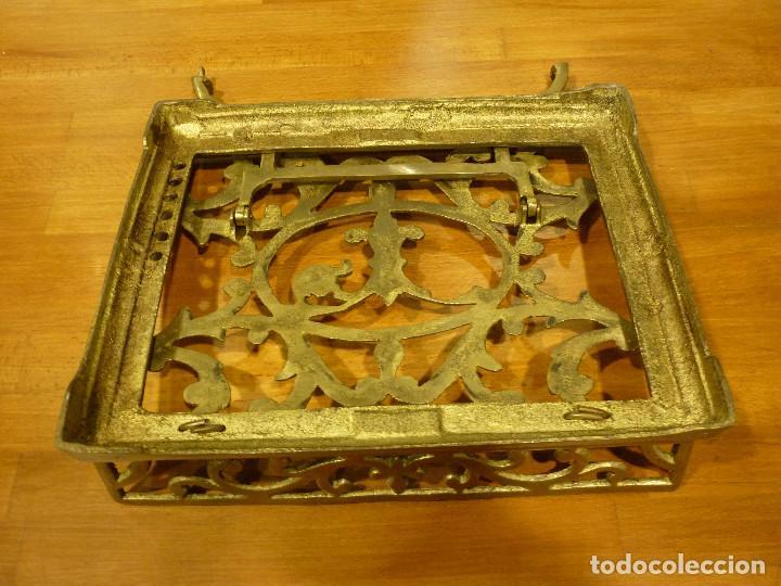 Antigüedades: ATRIL EN BRONCE - Foto 6 - 113250139