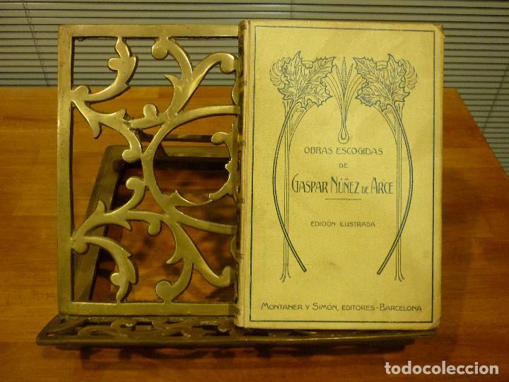 Antigüedades: ATRIL EN BRONCE - Foto 8 - 113250139