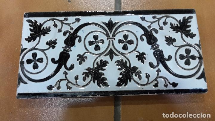 Antigüedades: Lote de 21 azulejos Mensaque - Rodríguez,Triana 1900. - Foto 3 - 113274287