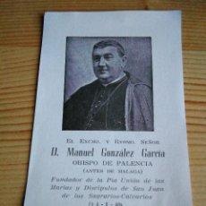 Antigüedades: ANTIGUO RELICARIO SAN MANUEL GONZALEZ GARCIA. Lote 113300779