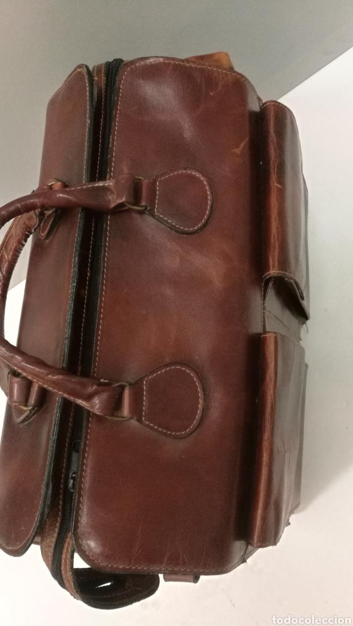 Antigüedades: Precioso bolso vintage, tipo maletín de médico - Foto 3 - 113309290