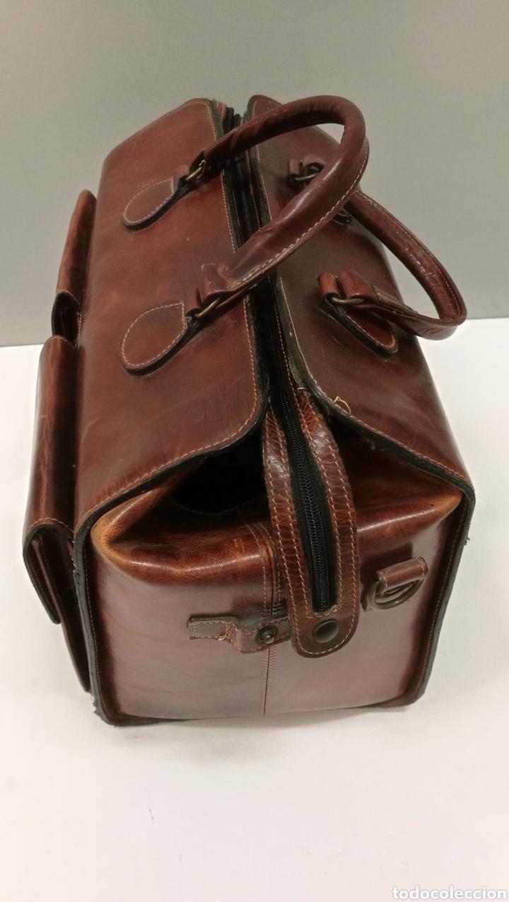Antigüedades: Precioso bolso vintage, tipo maletín de médico - Foto 4 - 113309290