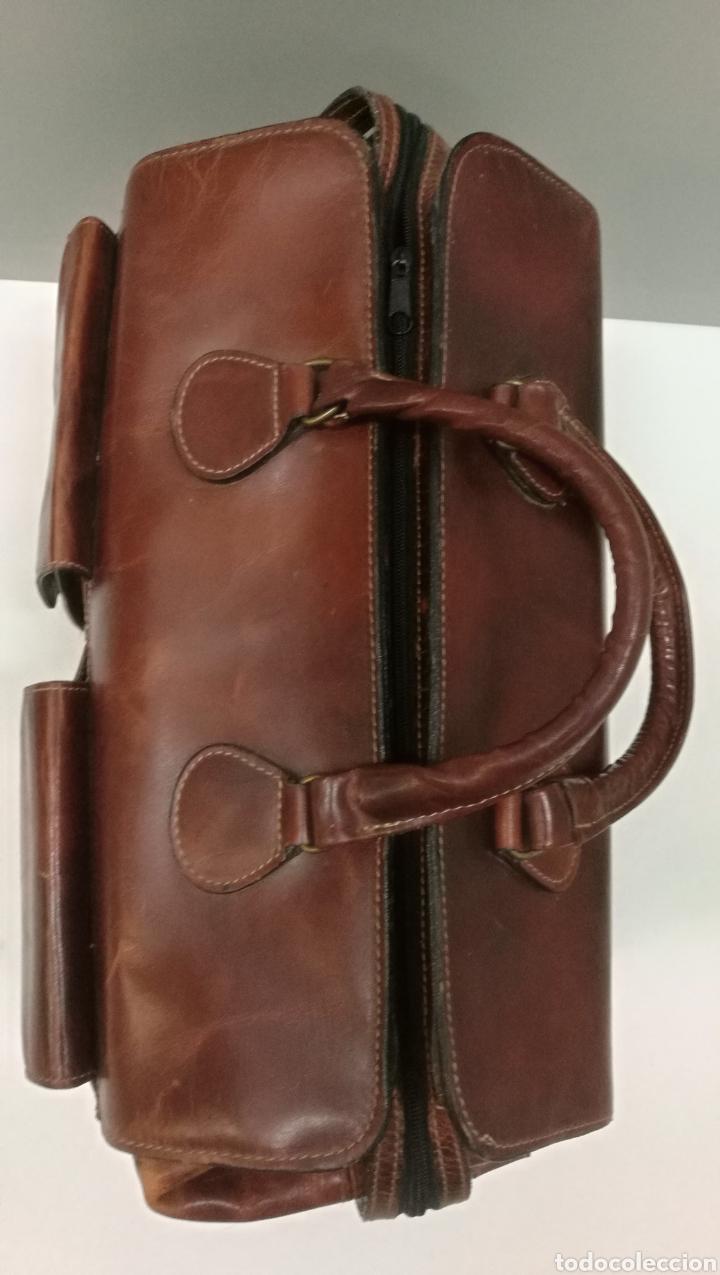 Antigüedades: Precioso bolso vintage, tipo maletín de médico - Foto 6 - 113309290