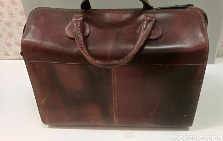 Antigüedades: Precioso bolso vintage, tipo maletín de médico - Foto 7 - 113309290