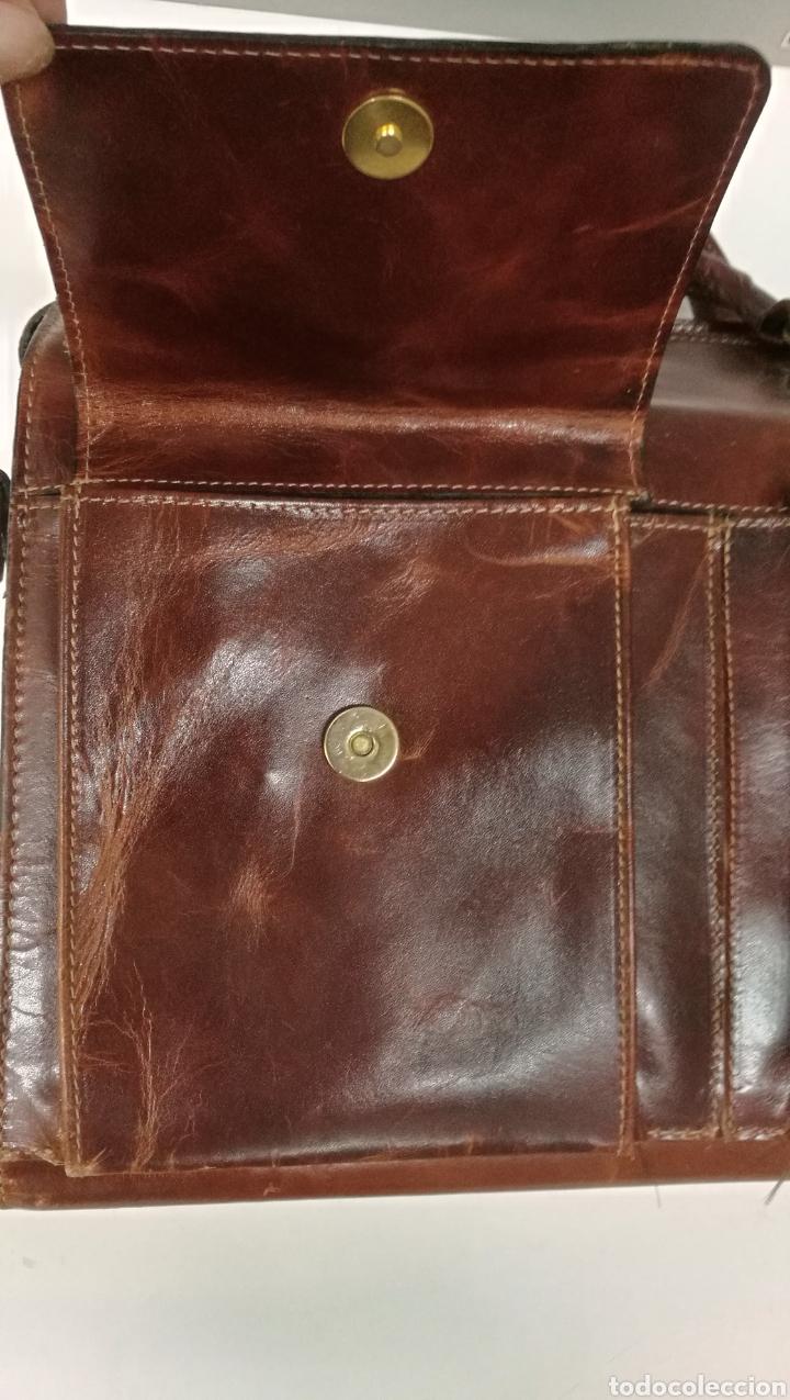 Antigüedades: Precioso bolso vintage, tipo maletín de médico - Foto 12 - 113309290