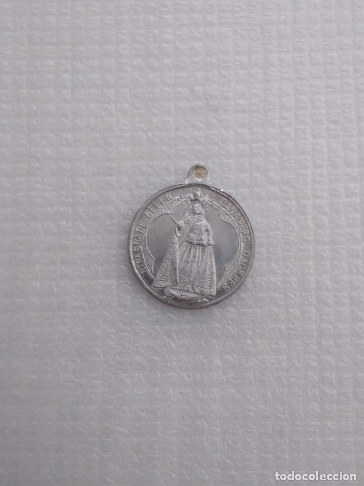 CAÑAMERO CÁCERES ANTIGUA MEDALLA DE NTRA SRA DE BELÉN (Antigüedades - Religiosas - Medallas Antiguas)