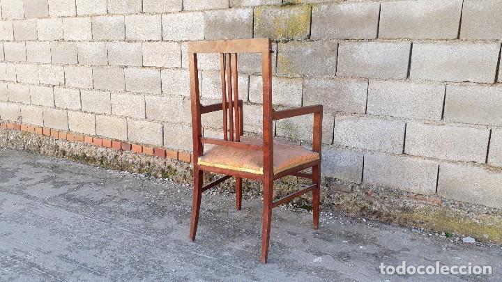 Antigüedades: Tresillo antiguo estilo modernista, sofá antiguo + dos sillones antiguos estilo modernista, art deco - Foto 14 - 113327643