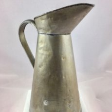 Antigüedades: ANTIGUA JARRA-AGUAMANIL DE METAL SIGLO XIX (18085). Lote 113337712