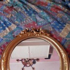 Antigüedades: ESPEJO PAN DE ORO SIGLO XVIII. Lote 113342027