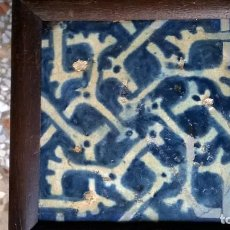 Antigüedades: AZULEJO GÓTICO.MEDIDA 15X15 CM. Lote 113343859