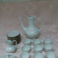 Antigüedades: JUEGO DE CAFÉ IRABIA. Lote 113346992