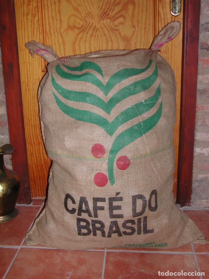 Saco de arpillera o yute de caf de brasil vendido en - Saco arpillera ...