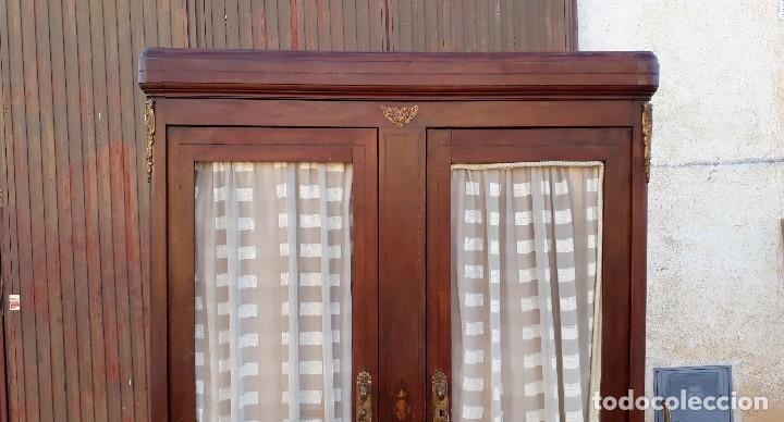 Antigüedades: Armario antiguo estilo modernista. Alacena antigua estilo rústico. Armario alacena vintage. - Foto 4 - 113364155