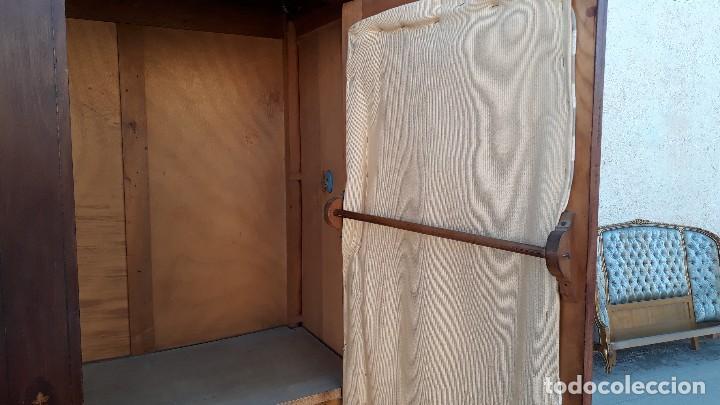 Antigüedades: Armario antiguo estilo modernista. Alacena antigua estilo rústico. Armario alacena vintage. - Foto 13 - 113364155