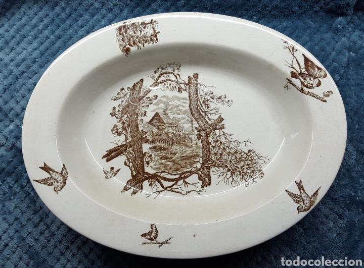 MARIANO POLA Y CIA. EXCELENTE PIEZA DE FINALES S.XIX (Antigüedades - Porcelanas y Cerámicas - Otras)