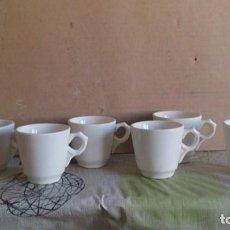 Antigüedades: LOTE DE 6 TAZAS CAFE. Lote 113389291