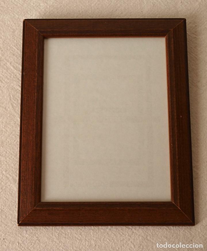 marco de madera maciza para colgar. 24 x 19 cm - Comprar Marcos ...