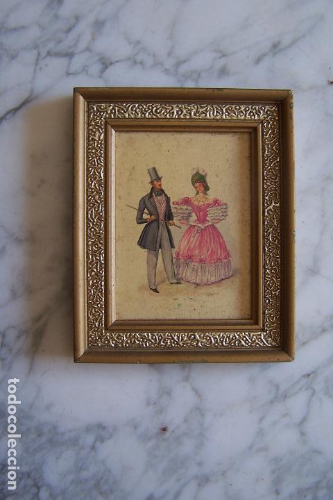 marco madera y pasta, estuco. 14,5 por 11,5 cms - Comprar Marcos ...