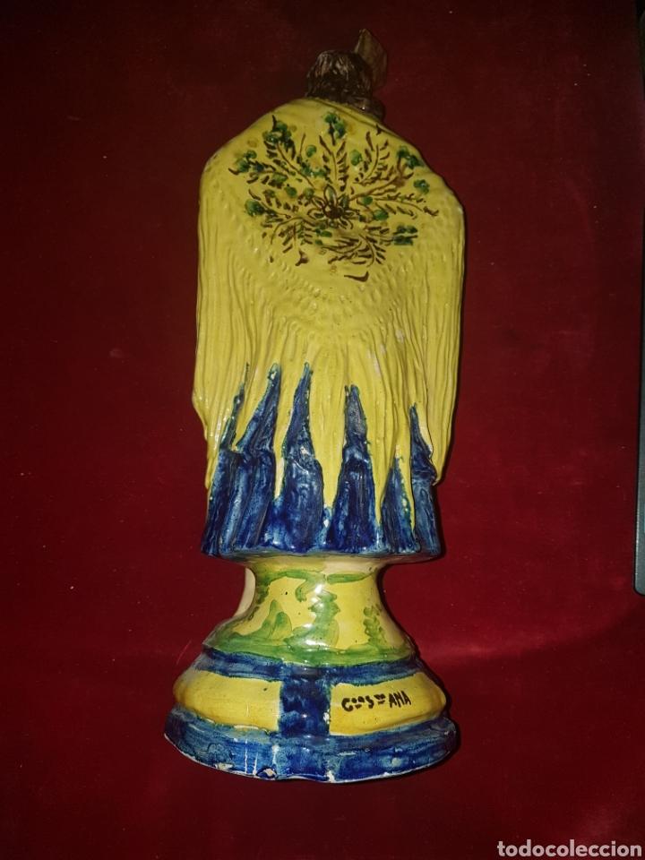 Antigüedades: Antigua ceramica de Sevillana Fabrica Santa Ana Triana - Foto 4 - 113413327