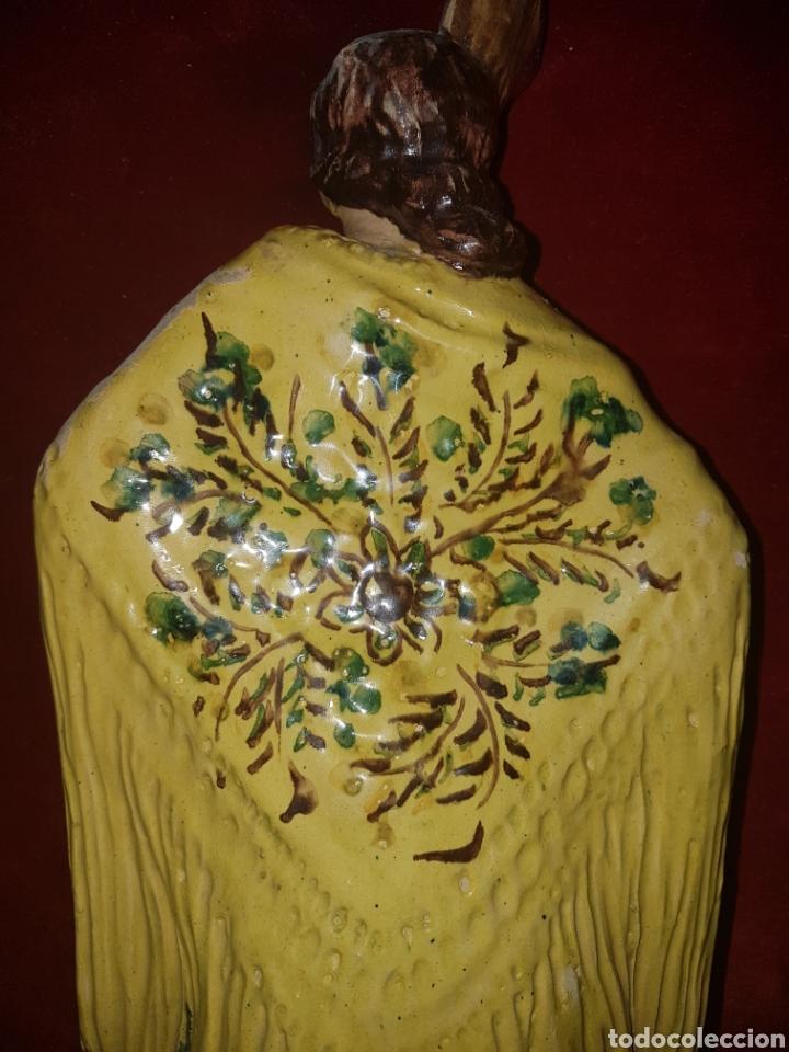 Antigüedades: Antigua ceramica de Sevillana Fabrica Santa Ana Triana - Foto 6 - 113413327