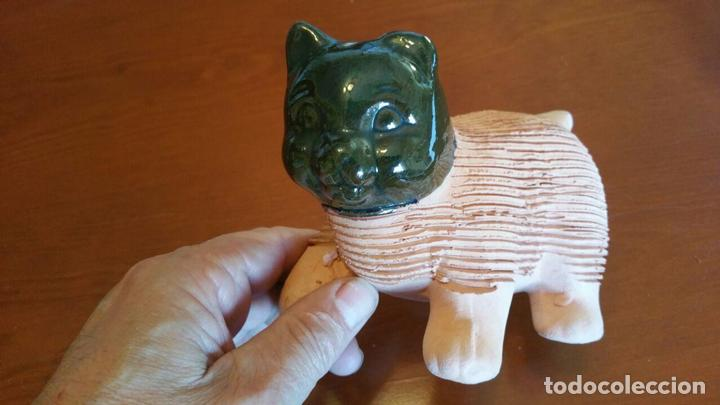 Antigüedades: CHIA PET KITTEN, GATO DE BARRO PARA PLANTAR CESPED AÑOS 80 - Foto 2 - 113413435