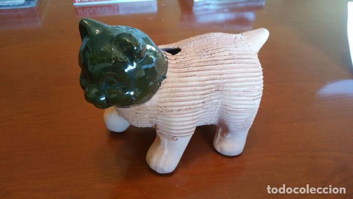 Antigüedades: CHIA PET KITTEN, GATO DE BARRO PARA PLANTAR CESPED AÑOS 80 - Foto 3 - 113413435