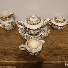 Antigüedades: JUEGO DE CAFÉ LA CARTUJA. Lote 288453083
