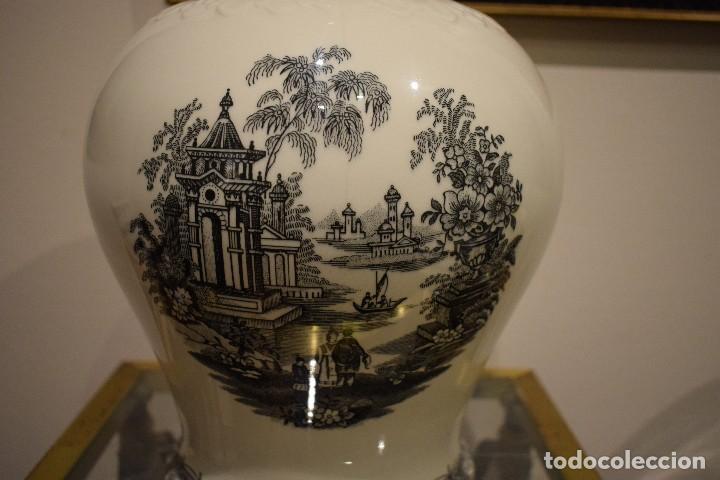 Antigüedades: JARRÓN CARTUJA - Foto 2 - 113441295