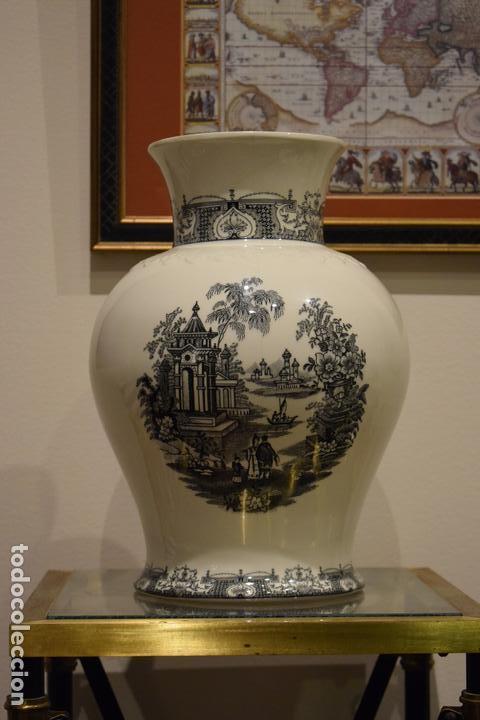 Antigüedades: JARRÓN CARTUJA - Foto 6 - 113441295