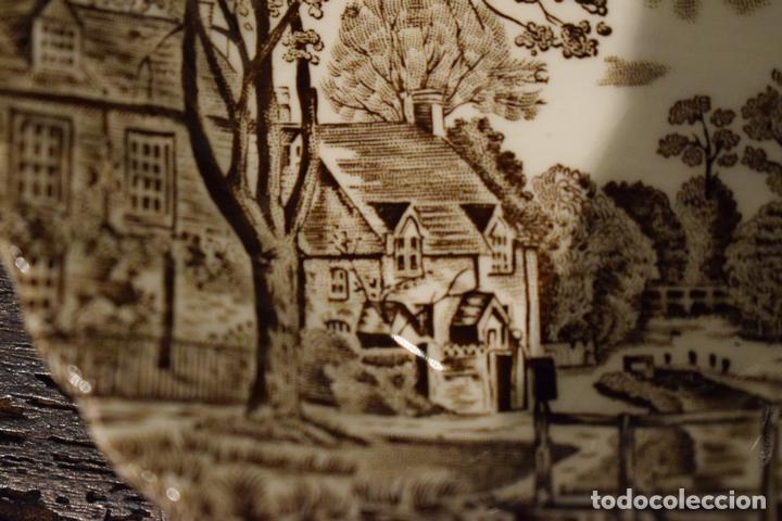Antigüedades: PEQUEÑO CUENCO PORCELANA INGLESA - Foto 3 - 113441899