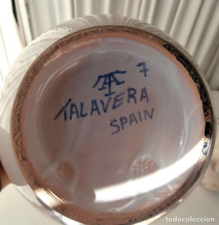 Antigüedades: JARRA DE TALAVERA - Foto 5 - 113446987