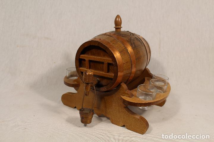 Antigüedades: barril TONEL PEQUEÑO EN MADERA DE ROBLE - Foto 5 - 113449519