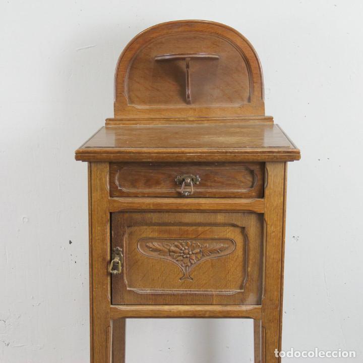 Antigüedades: Mesita de noche Art Nouveau - Foto 2 - 113491715