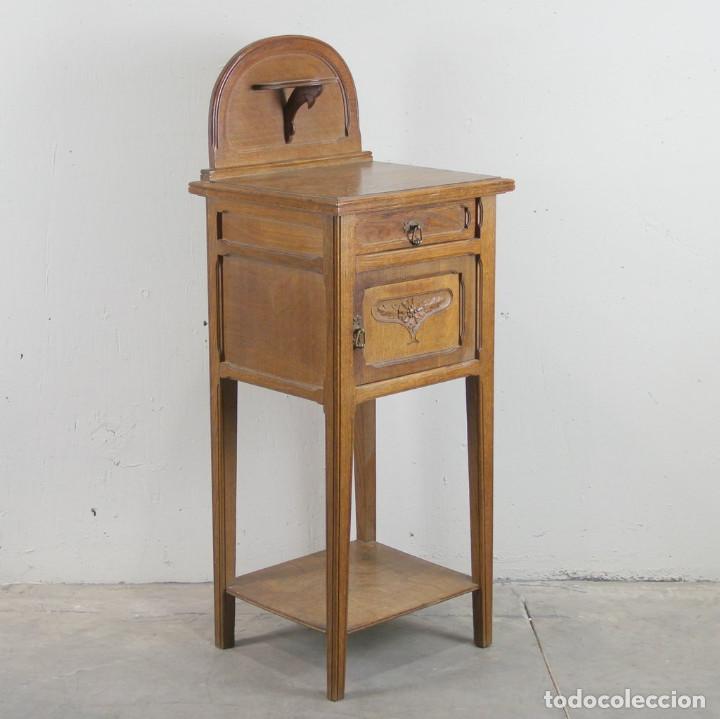 Antigüedades: Mesita de noche Art Nouveau - Foto 3 - 113491715