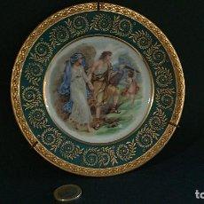 Antigüedades: PLATO DE PORCELANA. LIMOGES. Lote 113492223