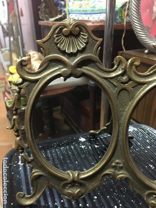antiguo marco imperial de bronce para dos fotos - Comprar Marcos ...