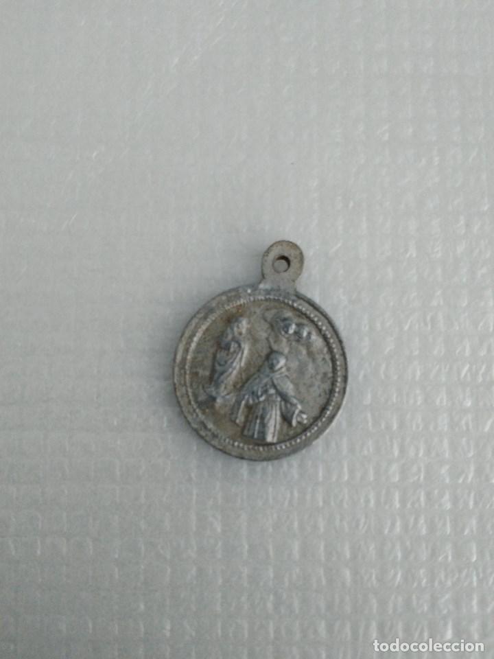 GANDÍA VALENCIA ANTIGUA MEDALLA DEL BEATO ANDRÉS HIBERNÓN (Antigüedades - Religiosas - Medallas Antiguas)