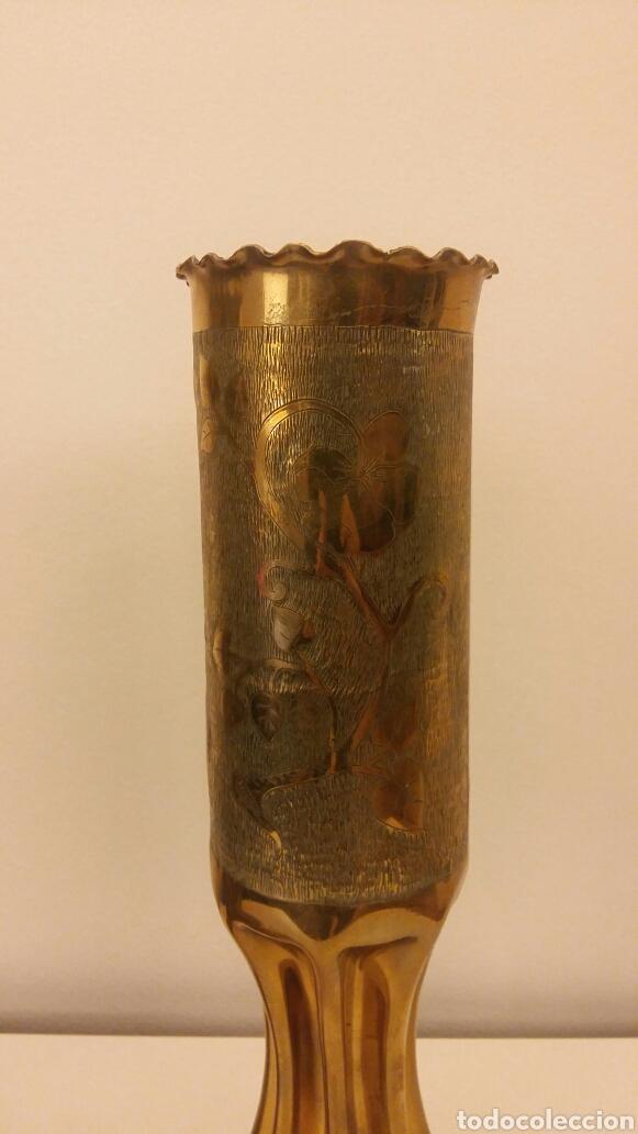 Antigüedades: Pareja de candeleros OBUS - Foto 2 - 113510330