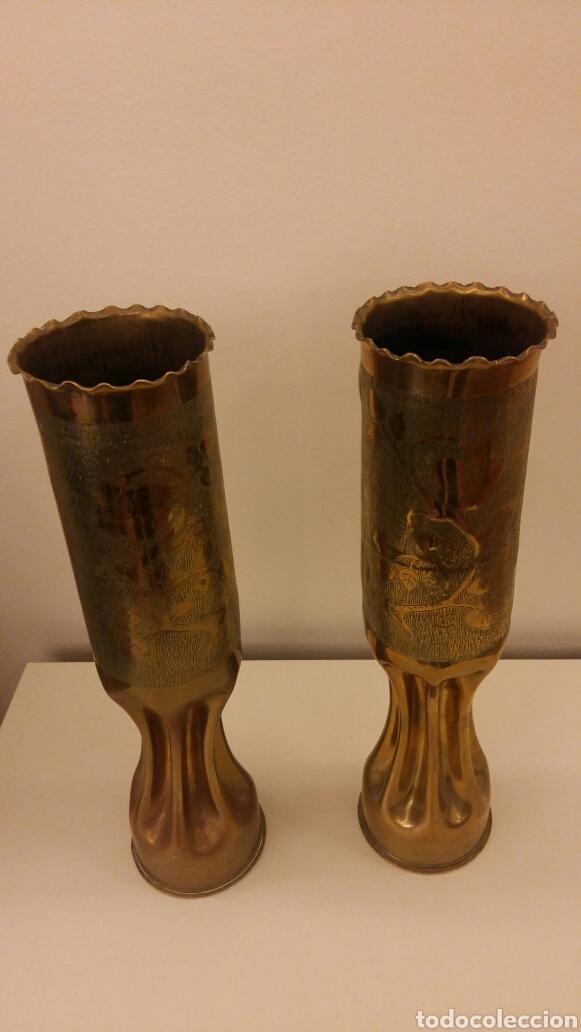 Antigüedades: Pareja de candeleros OBUS - Foto 3 - 113510330
