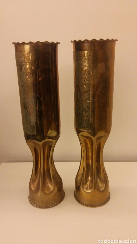 Antigüedades: Pareja de candeleros OBUS - Foto 4 - 113510330