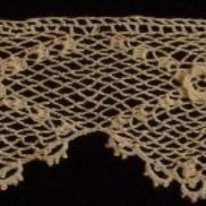 Antigüedades: ANTIGUO ENCAJE GUIPUR DE IRLANDA . S. XIX. Lote 119535784