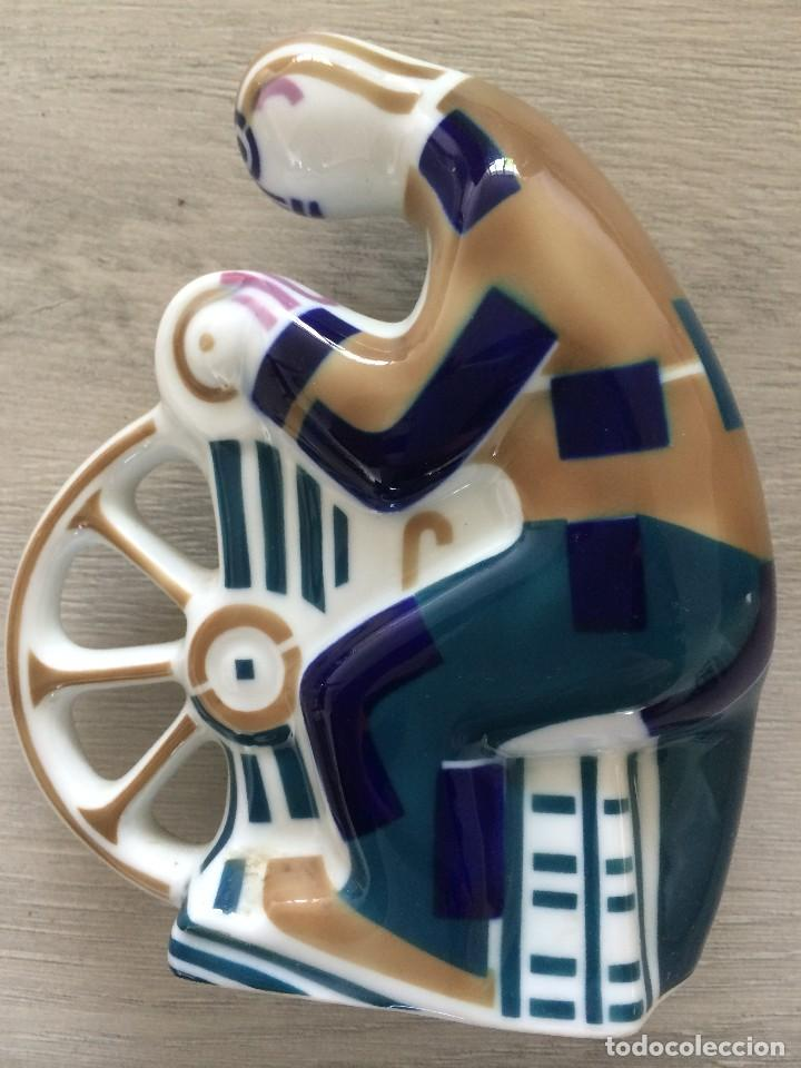 Antigüedades: Figura de porcelana de Sargadelos, EL AFILADOR. - Foto 2 - 113625491