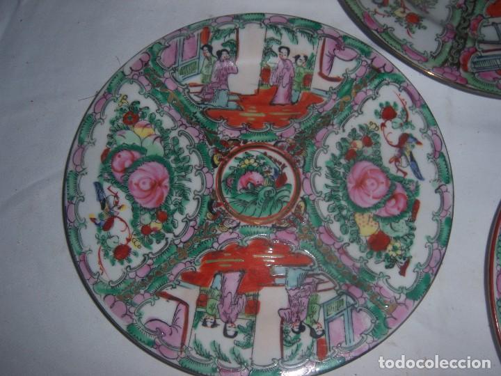 Antigüedades: lote de 4 platos chinos - Foto 5 - 113635951