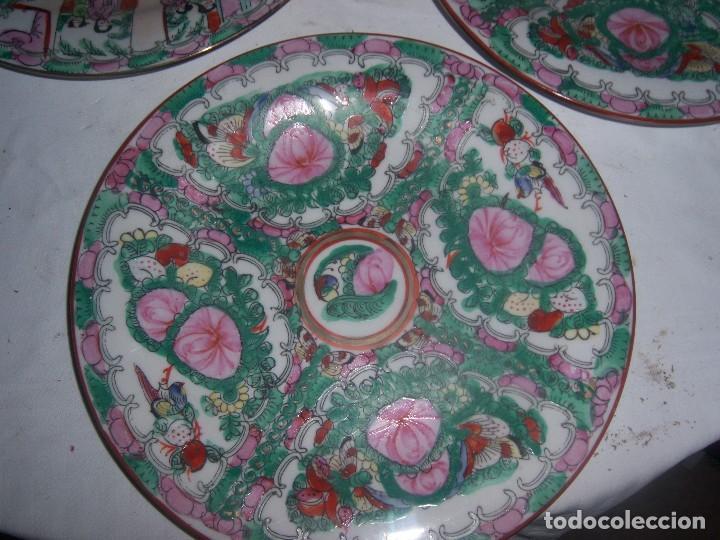 Antigüedades: lote de 4 platos chinos - Foto 6 - 113635951