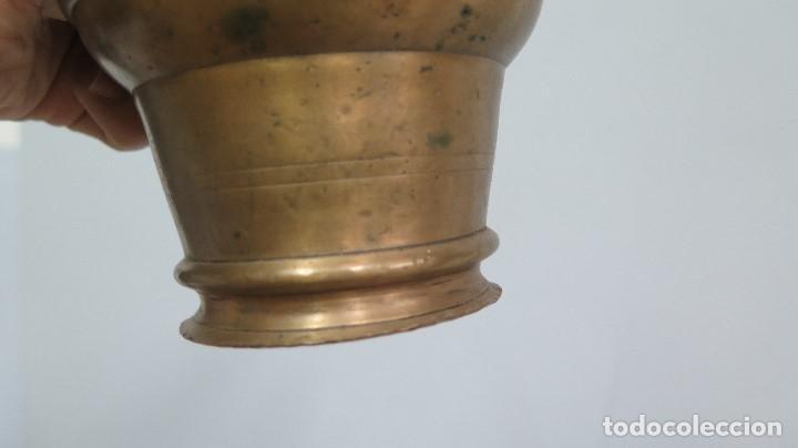 Antigüedades: ALMIREZ DE BRONCE. SIGLO XVIII-XIX - Foto 7 - 113643027