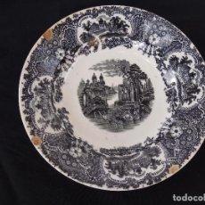 Antigüedades: PLATO HONDO PICKMAN LA CARTUJA 23 CM.. Lote 113669903