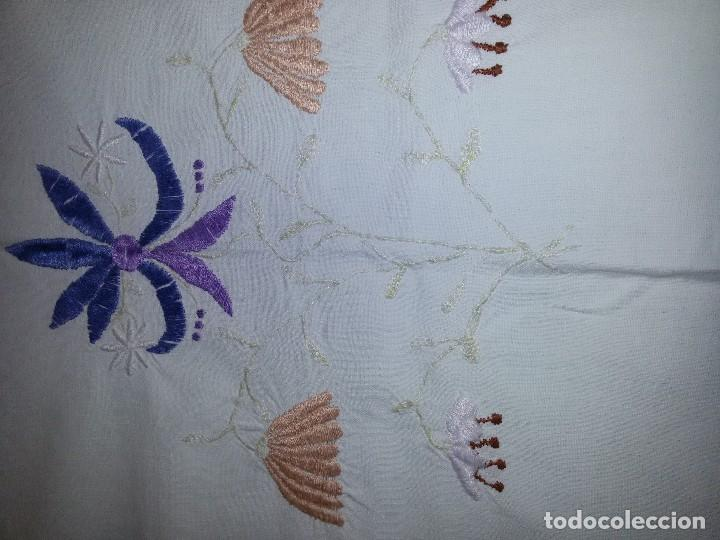 Antigüedades: ANTIGUO MANTEL DE ALTAR-ALGODÓN - Foto 24 - 113676551