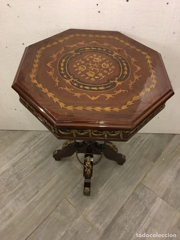 Antigüedades: VELADOR ESTILO IMPERIO - Foto 6 - 113686651
