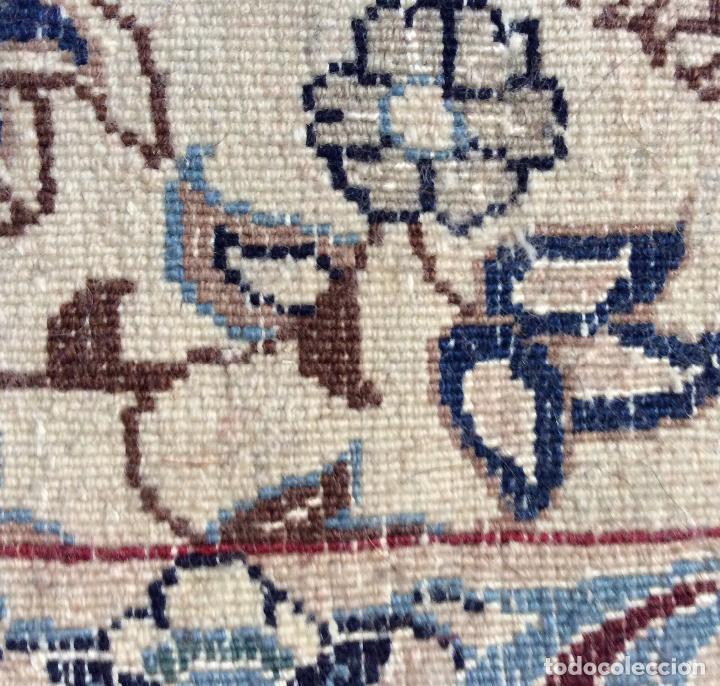 Antigüedades: ALFOMBRA PERSA-NAIN - Foto 3 - 113714739
