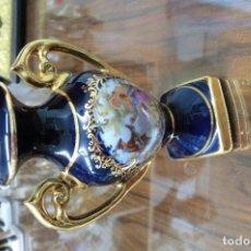 Antigüedades: JARRON DE PORCELANA LIMOGES . Lote 113718195